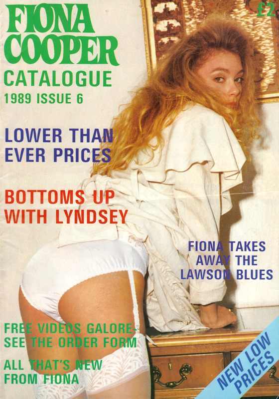 Fiona Cooper Catalogue - No.6 - November 1989